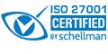 ISO27001-Zertifikat