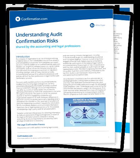 Juristisches Whitepaper – Verständnis der Risiken von Revisionsbestätigungen